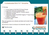 See our Raw Fit Recipes