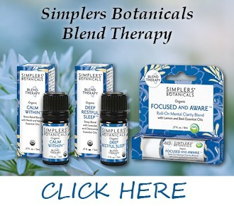 Blended Essential Oils from Simplers Botanicals