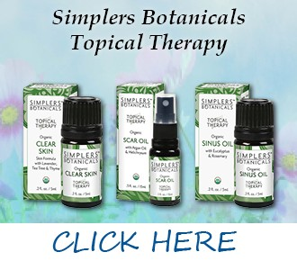Topical Therapy Essential Oils from Simplers Botanicals