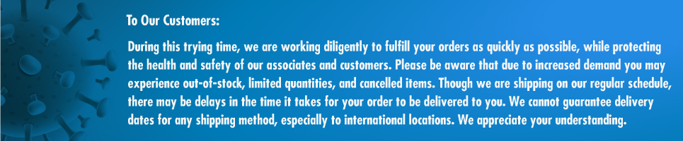 To Our Customers