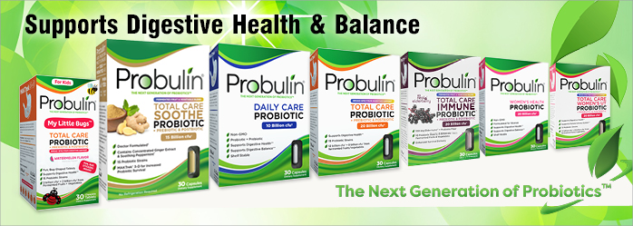 Probulin Probiotic products lineup