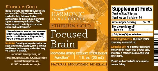 Etherium Gold - Monatomic Minerals (Ormus) - White Gold