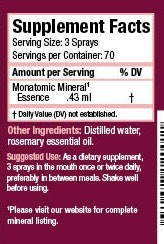 Etherium Pink Spray Label
