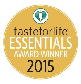Taste for Life Essentials Award Winner 2015