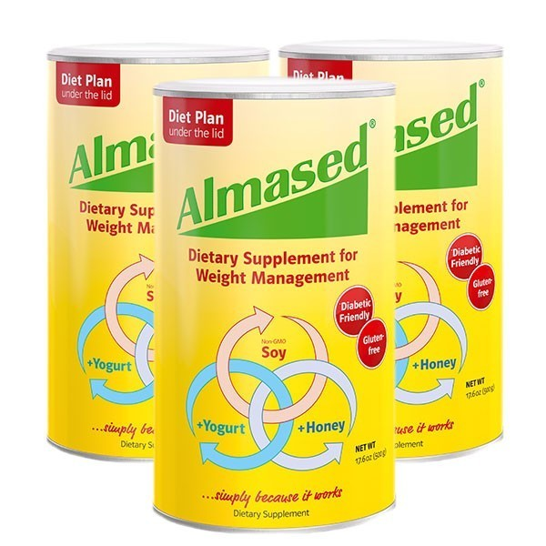 Almased Multi Protein Powder For Weight Management Energetic Nutrition
