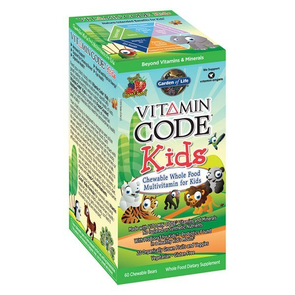 Vitamin code multi vitamin for kids from garden of life - Garden of life vitamin code kids ...