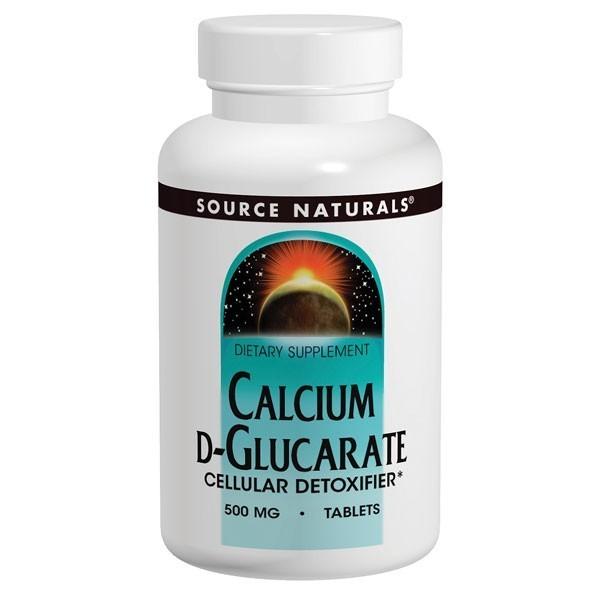 Calcium D Glucarate Cellular Detoxifier By Source Naturals