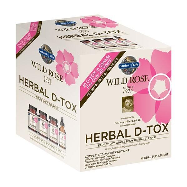 Herbal d-tox wild rose reviews