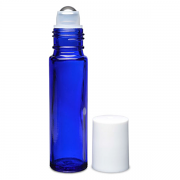 Glass Roll-On Bottle with Steel Roller Ball