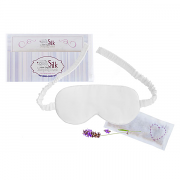 Silk Lady 100% Organic Silk Sleeping Mask - Standard