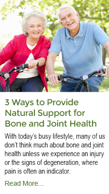 3 Ways to Provide Natural Support for Bone and Joint Health