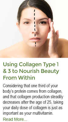 Using Collagen Types 1 and 3 to Nourish Beauty From Within