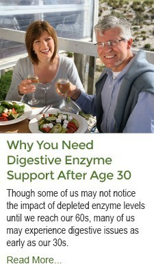 Why You Need Digestive Enzyme Support After Age 30