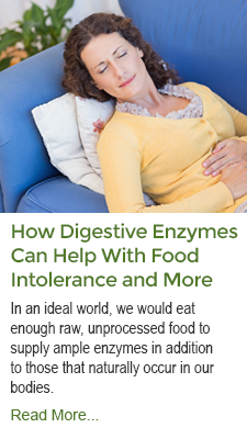 How Digestive Enzymes Help With Food Intolerance