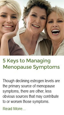 5 Keys Managing Menopause Symptoms