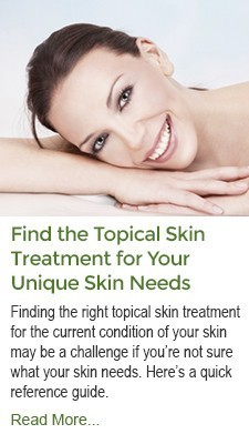 Find the Topical Skin Treatment for Your Unique Skin Needs