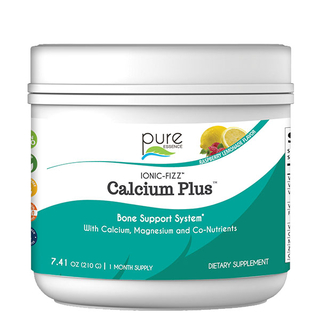 Ionic-Fizz Calcium Plus - Raspberry Lemon - 210g