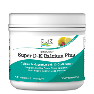 Ionic-Fizz Super D-K Calcium Plus - Raspberry Lemon - 210g