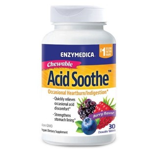 Acid Soothe Chewable - 30 Tablets