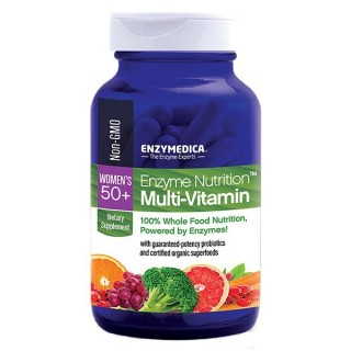 Enzyme Nutrition Multi-Vitamin - Women's 50+ - 60 Caps