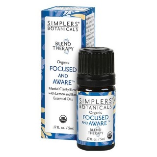 Focused and Aware Blend Therapy Oil - 5 ml Bottle