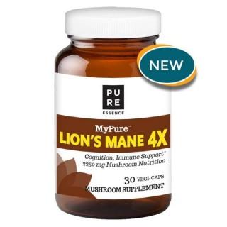 MyPure Lion's Mane 4X - 30 Vegi-Caps