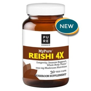 MyPure Reishi 4X - 30 Vegi-Caps