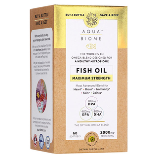 Aqua Biome Fish Oil - Maximum Strength - 60 and 120 Softgels