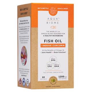 Aqua Biome Fish Oil - Meriva Curcumin