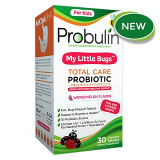 My Liitle Bugs Total Care Probiotics - 30 Tablets
