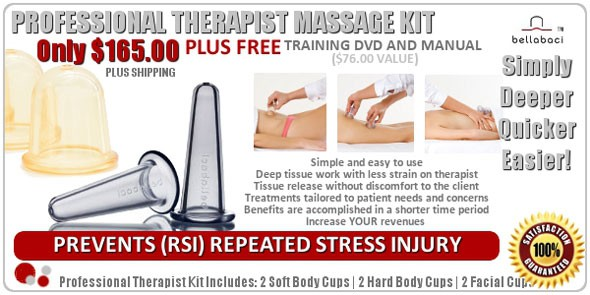 Professional Massage Therapist Cupping Kit