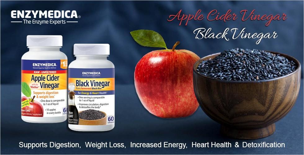 Black Vinegar by Enzymedica