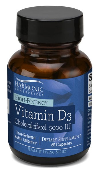 High Potency Vitamin D-3 5,000 IU