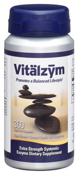 Vitalzym Systemic Enzymes with Enteric Coating
