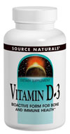 Vitamin D3 from Source Naturals