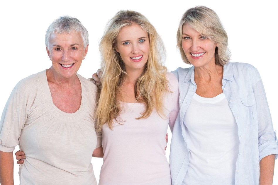 Three Generations of women for Women Health FAQ page